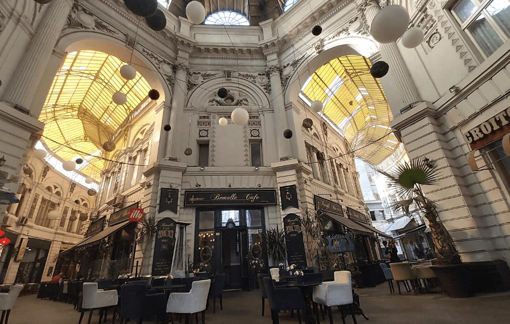 Macca Vilacrosse Passage, Bucharest city