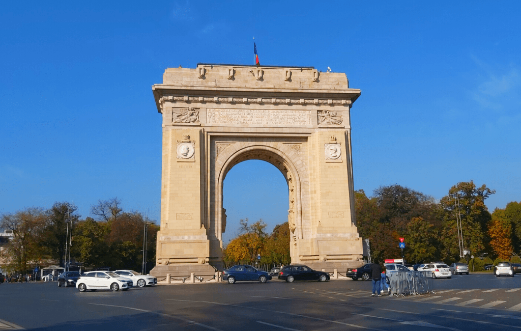 Bucharest Arch of Triumph