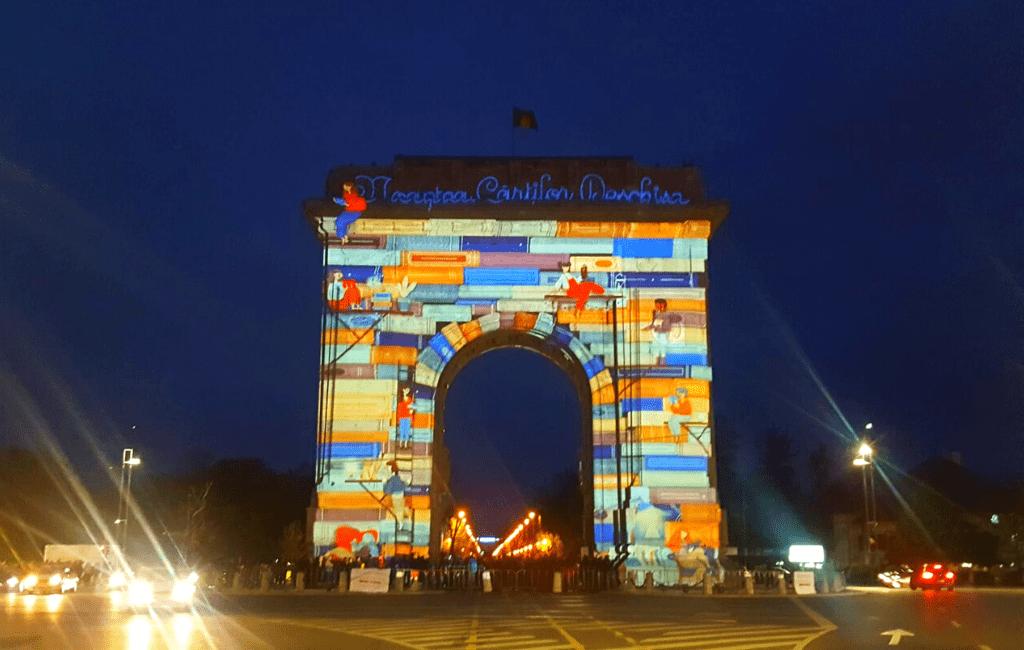 The arch of triumph