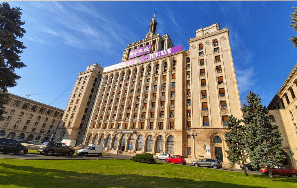 House of free press in Bucharest, Romania