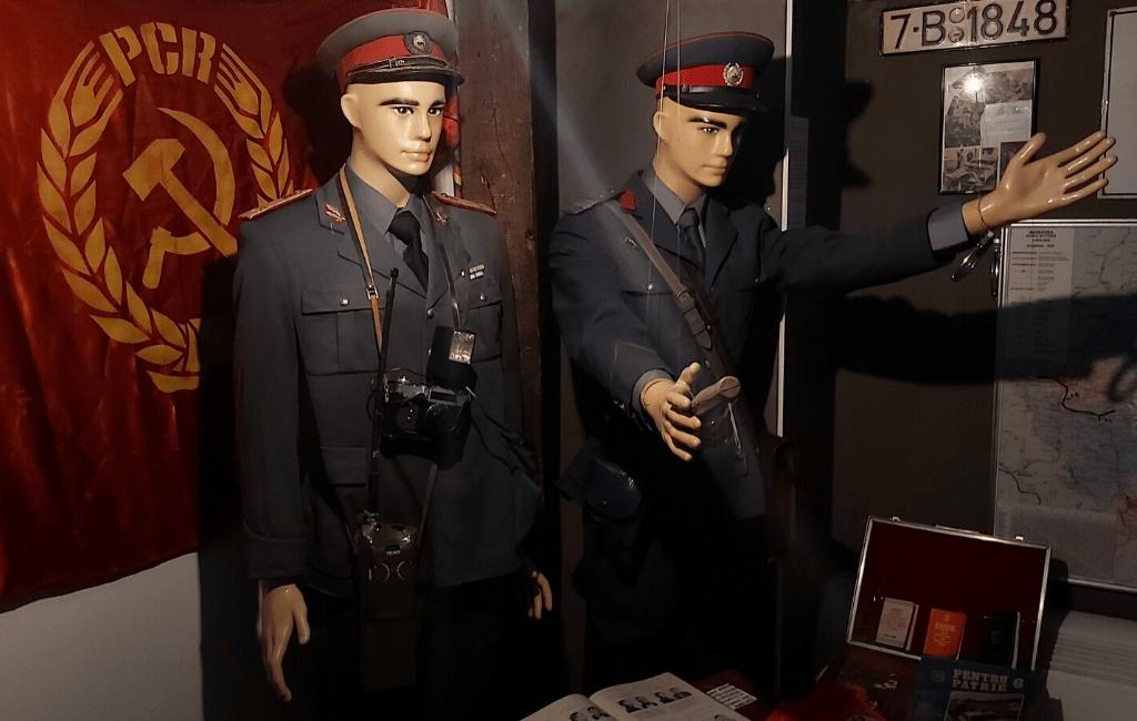 Kitch Museum - militian man uniform
