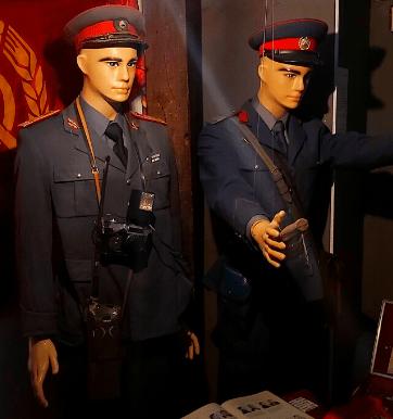 Kitsch Museum - militian man uniform