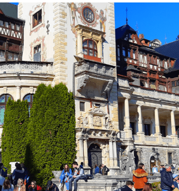 One day trip to Peles Castle