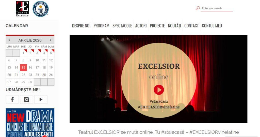 Teatrul Excelsior online shows