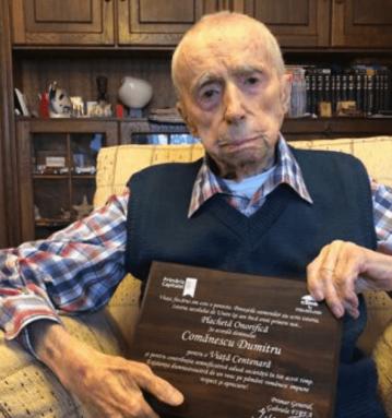 Dumitru Comanescu - the oldest man in the world