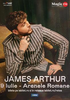 James Arthur Concert