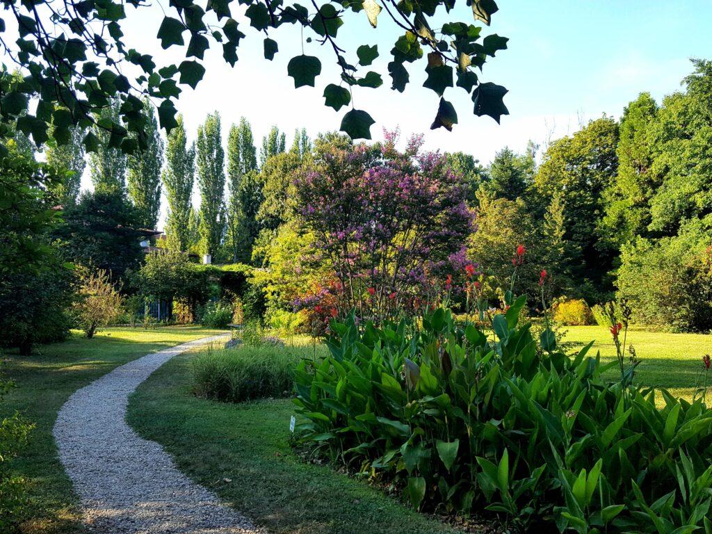 Alley on Botanical Garden