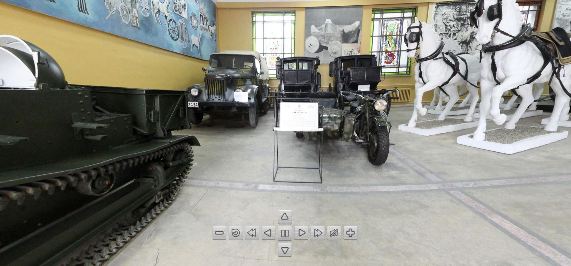 Royal Carriages and Military Vehicles Tour