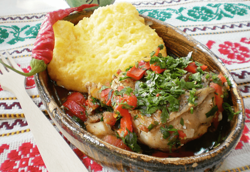 Traditional Romanian Dishes SARAMURĂ DE CRAP (Carp Brine)