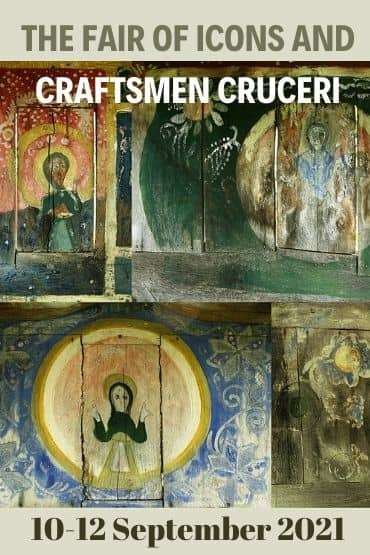The fair of icons and craftsmen crosses